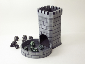 Dice Tower w/swappable trays
