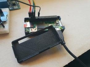Raspberry Pi Zero W case with GPIO opening