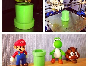 Supermario Warp Pipe