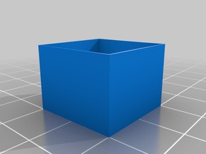 Calibration Cube for 0.4 mm Nozzle - Extruder Flow