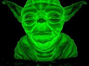 Glowda: the Glowing Yoda