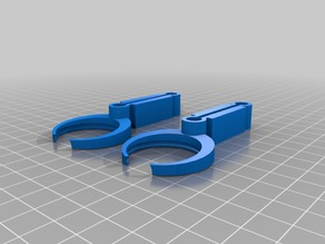 Lens Holders scaled for 30mm 7x lenses and scaled up opendive model for larger heads