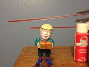 trump on a stump