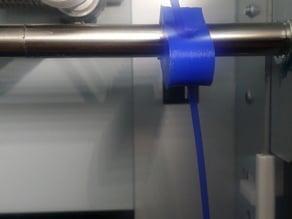 Filament guide 8mm rail mount