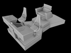 TOS Star Trek Bridge