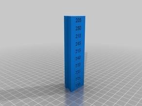 Temperature Calibration Triangle