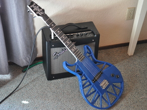 Fully Printed Electric Guitar