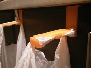 Trashbag Hanger for Kitchen Cabinets