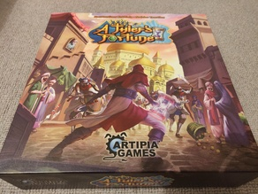 A Thief's Fortune - Boardgame Insert