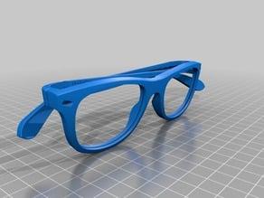 new new wayfarer glasses eyewear RB by optimaker