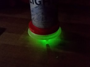 Light Up Stackable Coaster #LightItUp