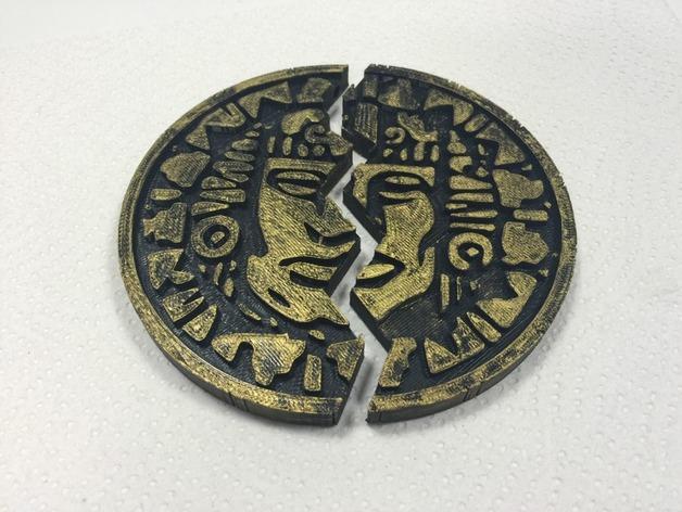 Legends of the hidden temple pendant of life full half by werd10 thingiview aloadofball Gallery