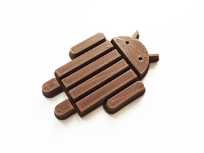 Android KitKat without Logo