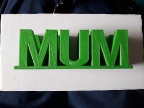 Mum Glasses Holder