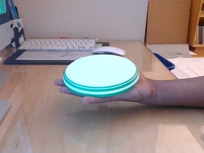 Palm-sized Frisbee