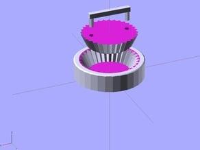 Cupcake case maker