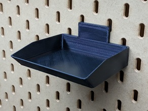 Tray for IKEA Skadis pegbard