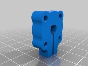 Clamping D-Hub 6mm (tapped)