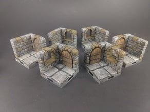 OpenForge 2.0 Dungeon Stone Modular Corners