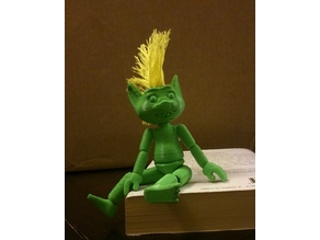 Troll puppet version 1