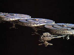 battlestar galactica mining ship