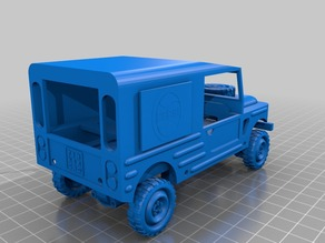 Pepsi Transport Jeep