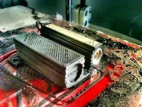 Laser / resistor housing