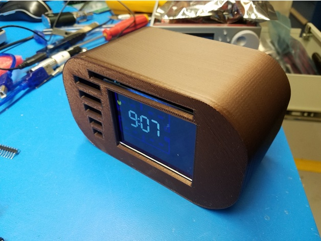 Pac man clock case remix by TronicGr - Thingiverse