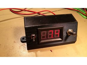 voltage control and measure box - speed controller