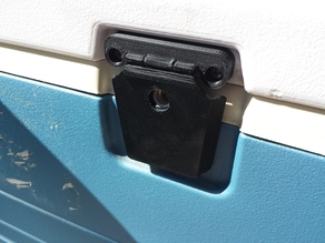 Igloo MaxCold cooler latch