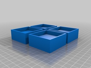 Füße / Foot for IKEA Bjursta or LACK Table Shelf