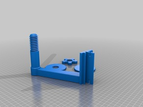 Threaded Spool Holder for 20mm extrusion