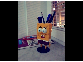 Spongebob Squarepants Figure and Pencil Holder