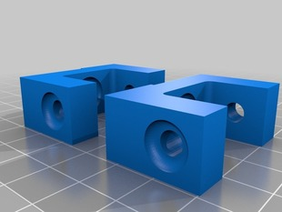 Y-Axis Bracket for Solidoodle 2/3 - Lipped version