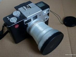 Leica Digilux 1 add-on lens adaptor (wide angle / macro)
