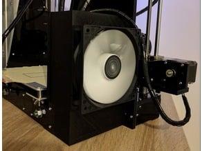 120mm Fan Bracket for electronic card, Anet A6