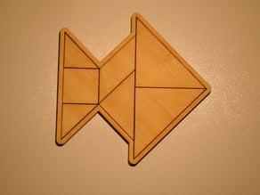 Tangram Fish puzzle
