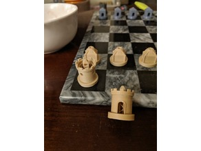 Teaser - Chess Set - Cottage Rook