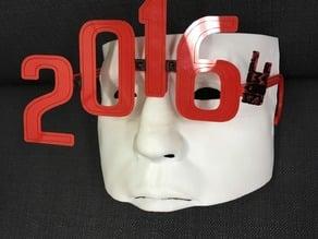 Happy New Year 2016 Glasses