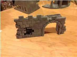 Roman Archway - REMIX - Miniature Terrain