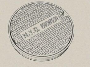 NYC Manhole cover