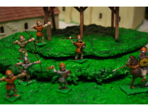 Generic Sword'n'Board 28mm Archers and Skirmishers