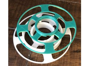 Modular spool for filament samples