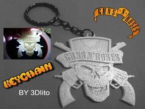 Llavero Guns N' Roses