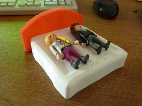 Playmobil Ehebett gerade; marriage bed