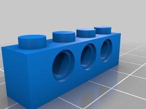 Lego Technic 1x4 3 Hole (3701)