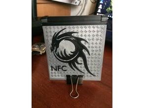 Money clip. NFC tag