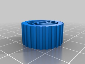 My Customized Parametric airless tire with cutout