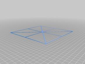 190x190 Print Bed Flatness Tester ()
