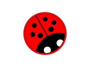Lady Bug Fridge Magnet